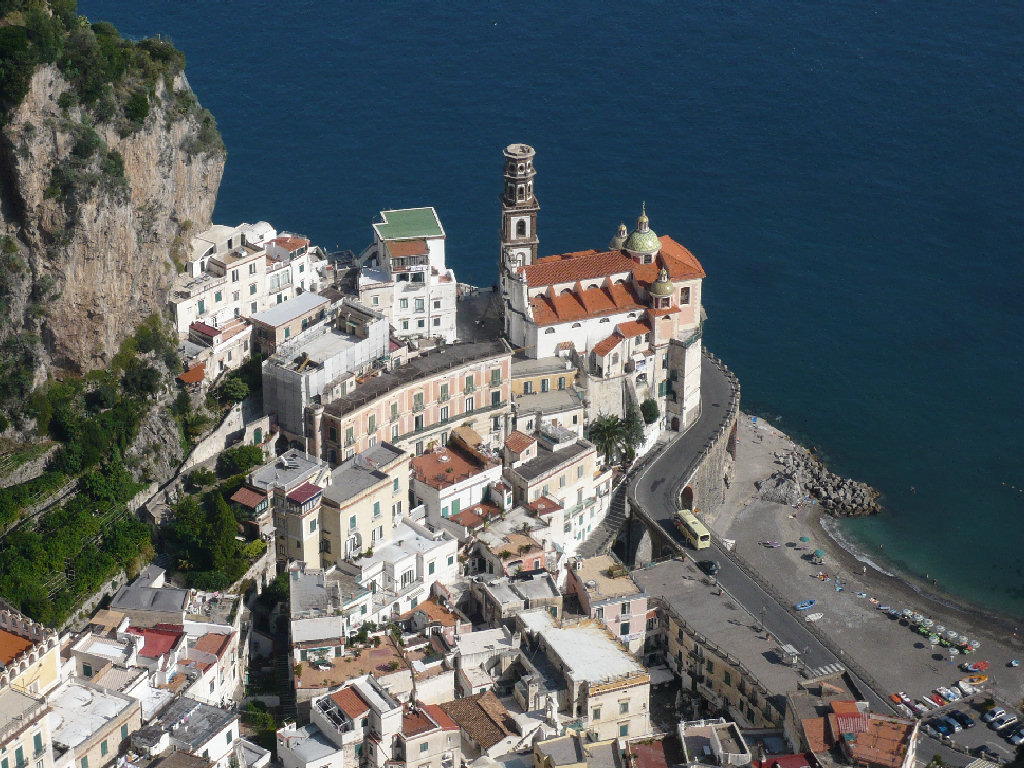 Perched over the sea, Atrani is a lesser known but historically rich town in Amalfi's Coast
