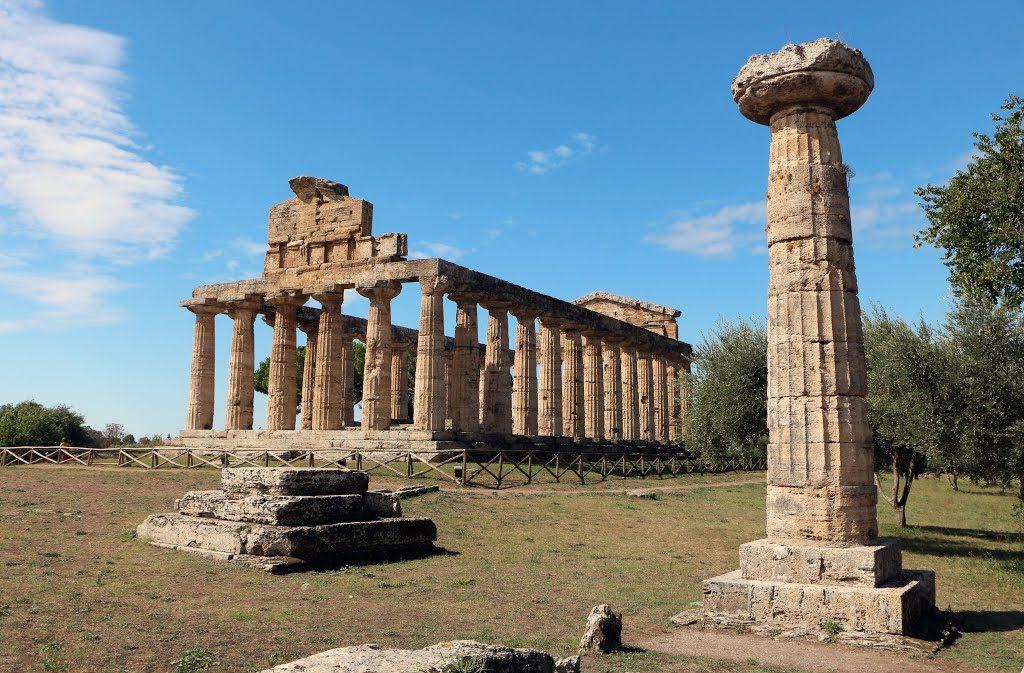 The Temple of Ceres in Paestum.