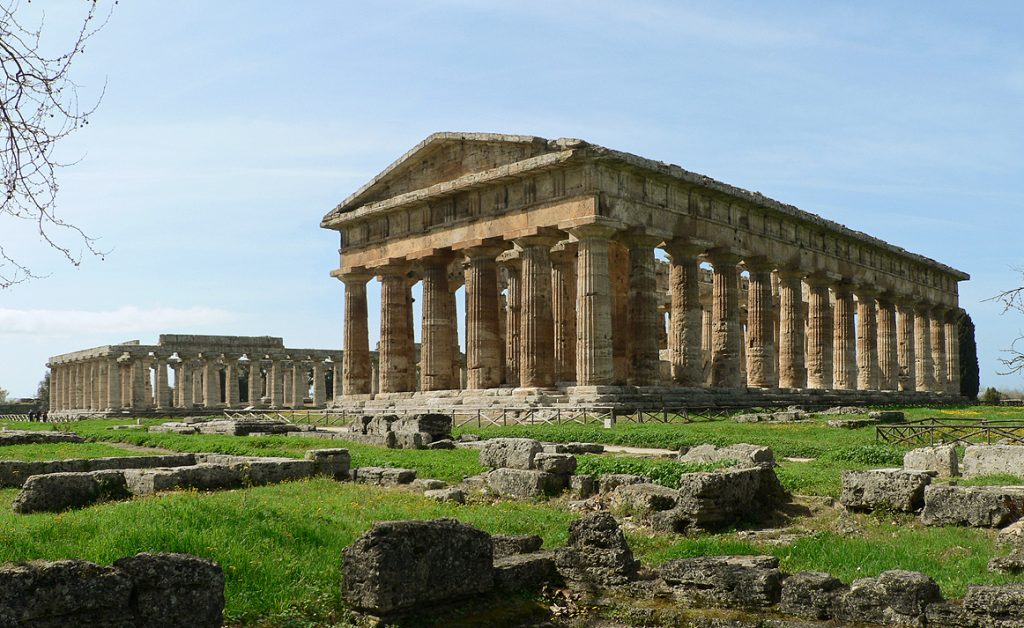 The Temple of Hera.