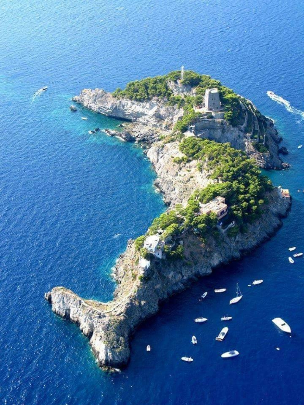 Li Galli Islands, Amalfi Coast.